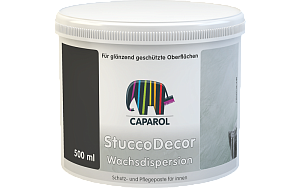 Декоративное покрытие Caparol Capadecor StuccoDecor Wachsdispersion (0,5л)