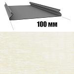 Потолок реечный Cesal S-100 Золотистый Штрих B318 (3м), 1 шт.